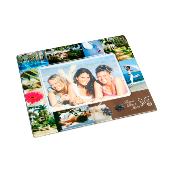 Armadillo Photo Frame Mouse Mat