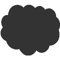 Cloud Shape Icon